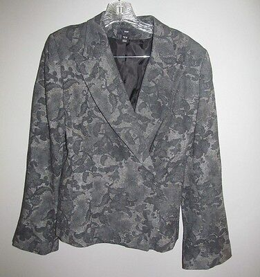 H&M Women's Patterned Blazer Size 12