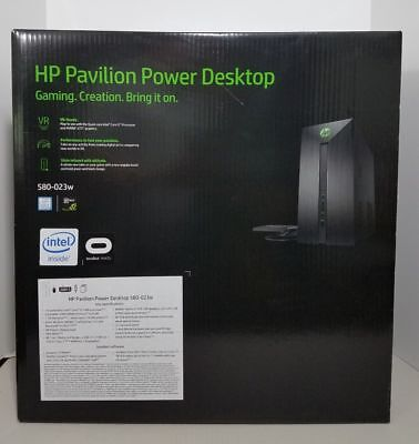 HP Pavilion 580-023w Gaming Tower i5-7400 1TB 8GB RAM NVIDIA GTX 1060 3GB