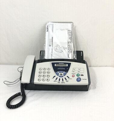 Brother Fax-575 Personal Plain Paper Fax Machine Phone Copier Fax575 Guc