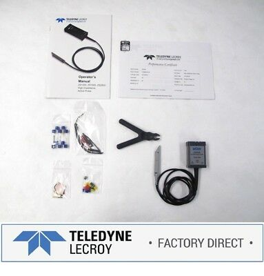 Teledyne Lecroy Zs2500 2.5ghz .9pf 1mohm Active Voltage Probe Factory Warranty