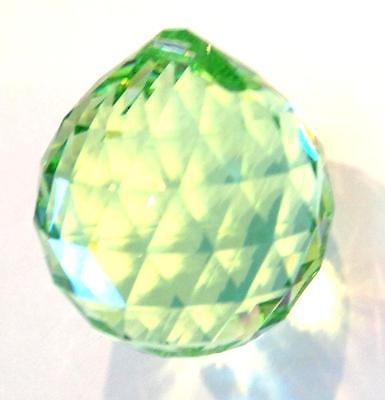 20mm Swarovski Strass Peridot Crystal Ball Prisms Feng Shui Wholesale CCI 8558