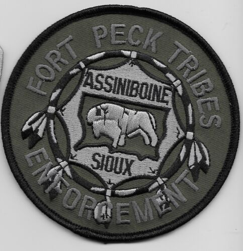 Ft Peck Assinboine Sioux Tribal SWAT SRT Subdued Police State Montana Green