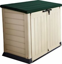 Keter Plastic Store It Out Garden Storage Box - Tan/Green. From Argos