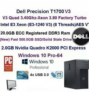 Like new Light gamer dell precision t1700