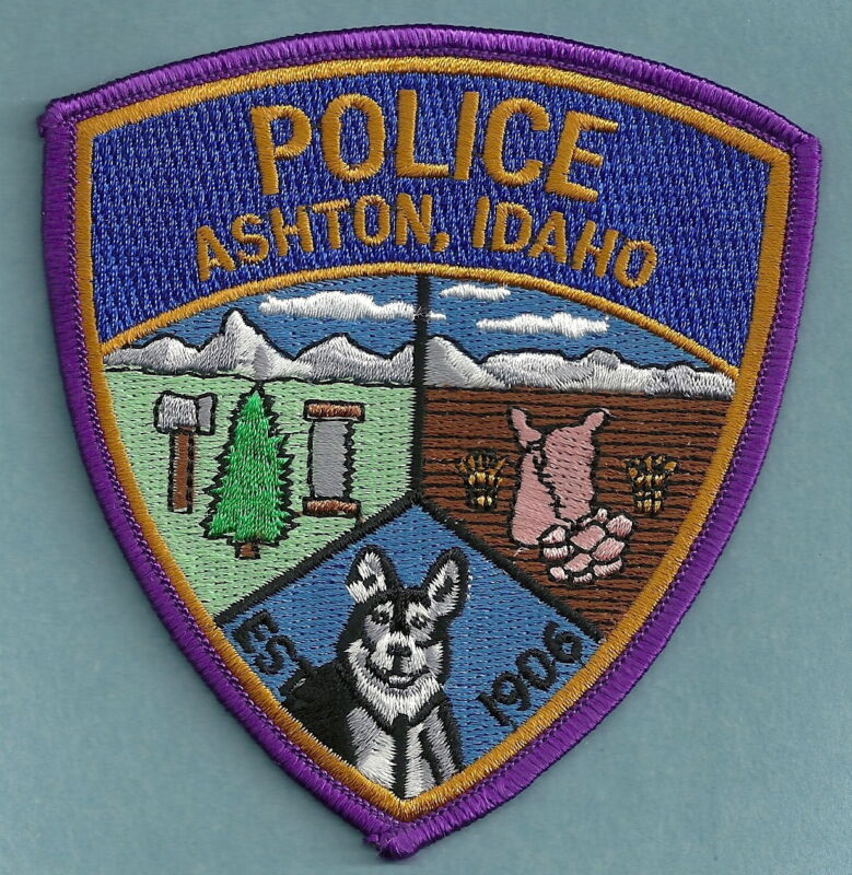 ASHTON IDAHO POLICE SHOULDER PATCH