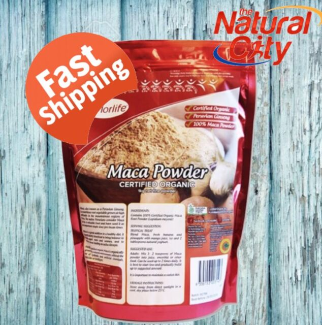 Morlife Certified Organic Maca Powder 1kg X 2 peruvian Australian Premium brand