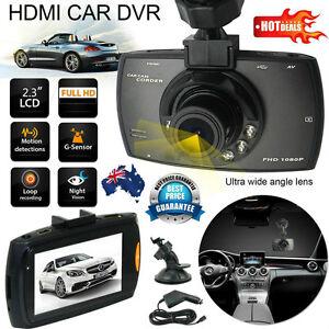 Full HD 1080P Car DVR Camera Dash Cam Video 2.3'' LCD G-sensor Night Vision E5#