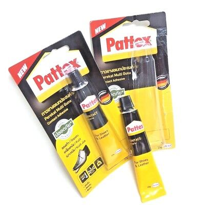 2 Super Adhesive Leather Fixer Best for Shoe Leather Repair Glue Sole Boots 15