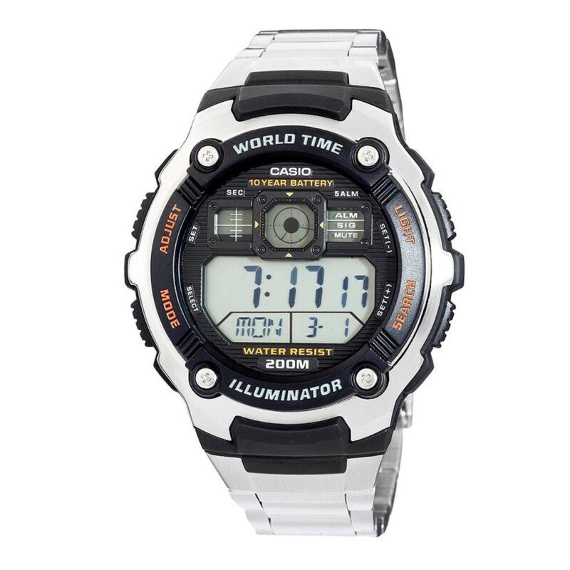 Casio Men's Multifunctional Digital Sport Watch Stainless Steel AE2000WD-1AV