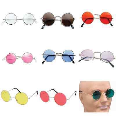 John Lennon Style Sunglasses Ozzy Osbourne Hippy 70's 80's Fancy Dress (Ozzy Style Glasses)