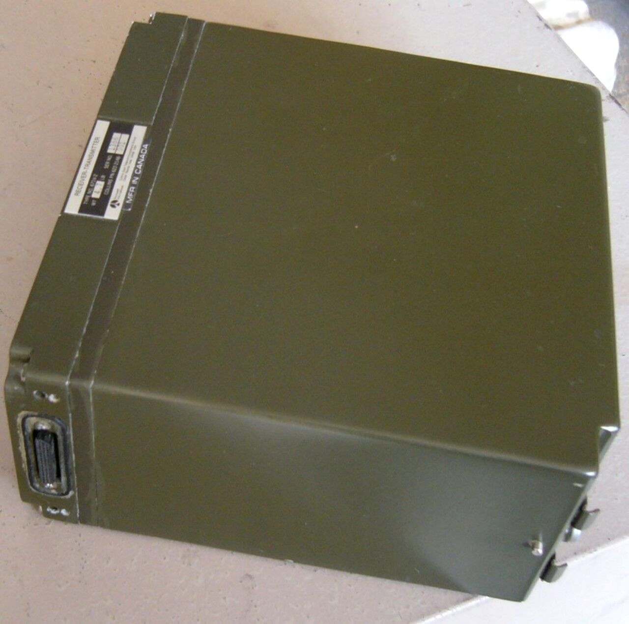 ROCKWELL COLLINS HF RECEIVER EXCITER * 622-2148-001 (Type: 671V-2)