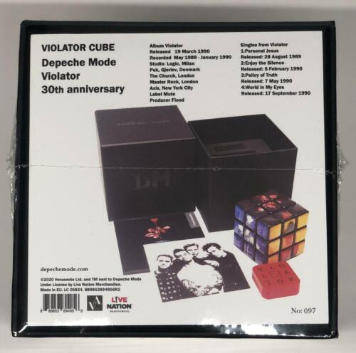 DEPECHE MODE BOX VIOLATOR CUBE black numbered limited edition