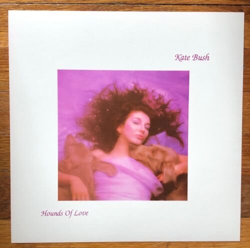 Kate Bush Hounds of Love RARE original promo 12 x 12 album flat