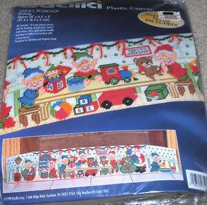 Bucilla-Christmas-Santas-Workshop-Elves-Making-Toys ...