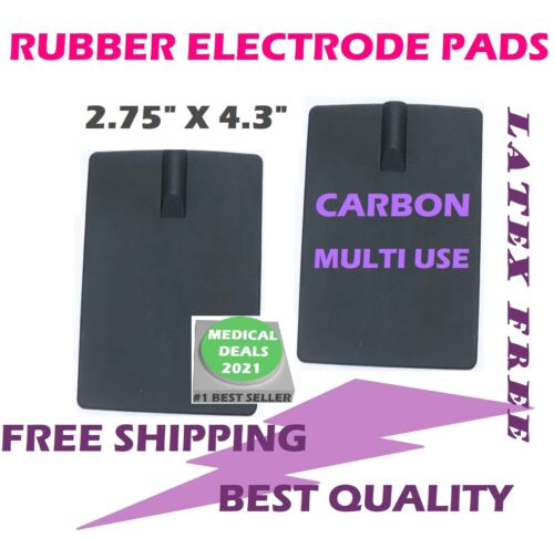 2PS CARBON RUBBER ELECTRODE for Hill Laboratories HILL IFC Interferential