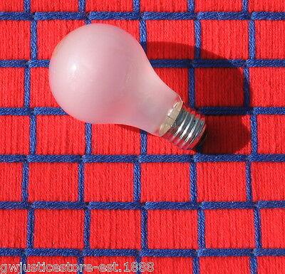 100 watt incandescent LIGHT BULB ban A19 inside frost 100w LONG LIFE ~ Box of 4