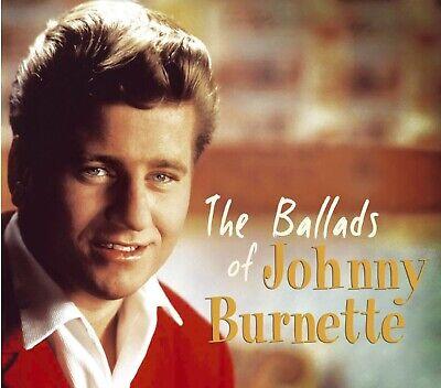 Rock 'n Roll CD- Johnny Burnette- The Ballads- Bear Family- Import- NEW / SEALED