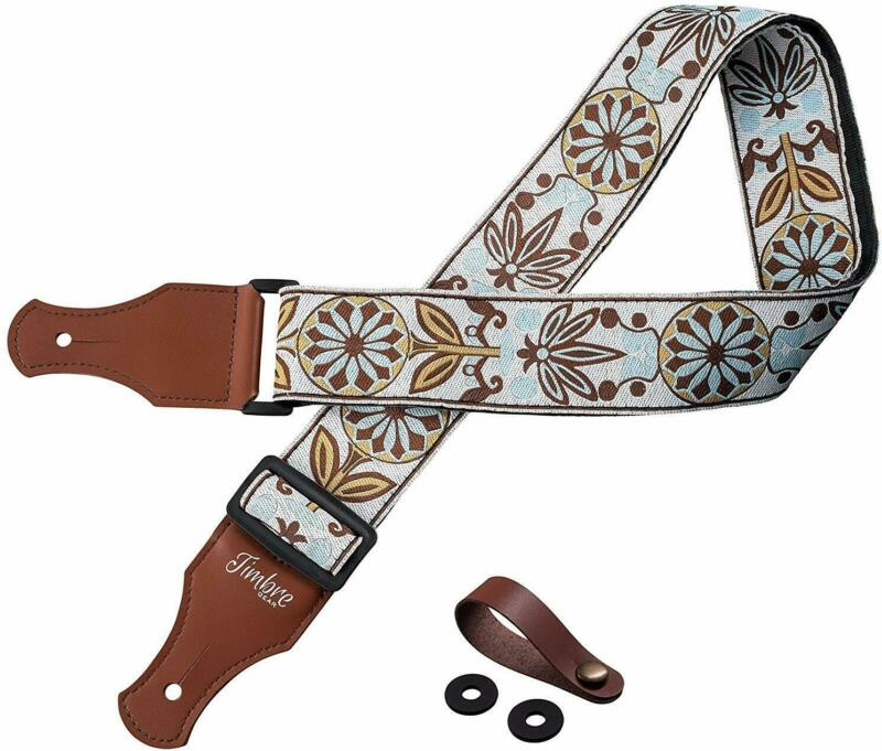 TimbreGear Vintage Woven Collection Strap Set For Acoustic a