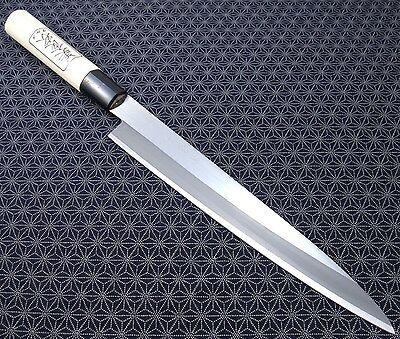 Japanese Yanagiba Knife GK104 V-shape 210mm sushi sashimi Carbon  Made in Japan