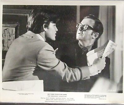 THE BAREFOOT EXECUTIVE w/Kurt Russell, Joe Flynn & Wally Cox - 3 MOVIE STILLS