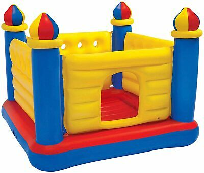 Intex 48259NP Castle Inflatable, 175x175x135 CM Floor Inflatable For 2 Children