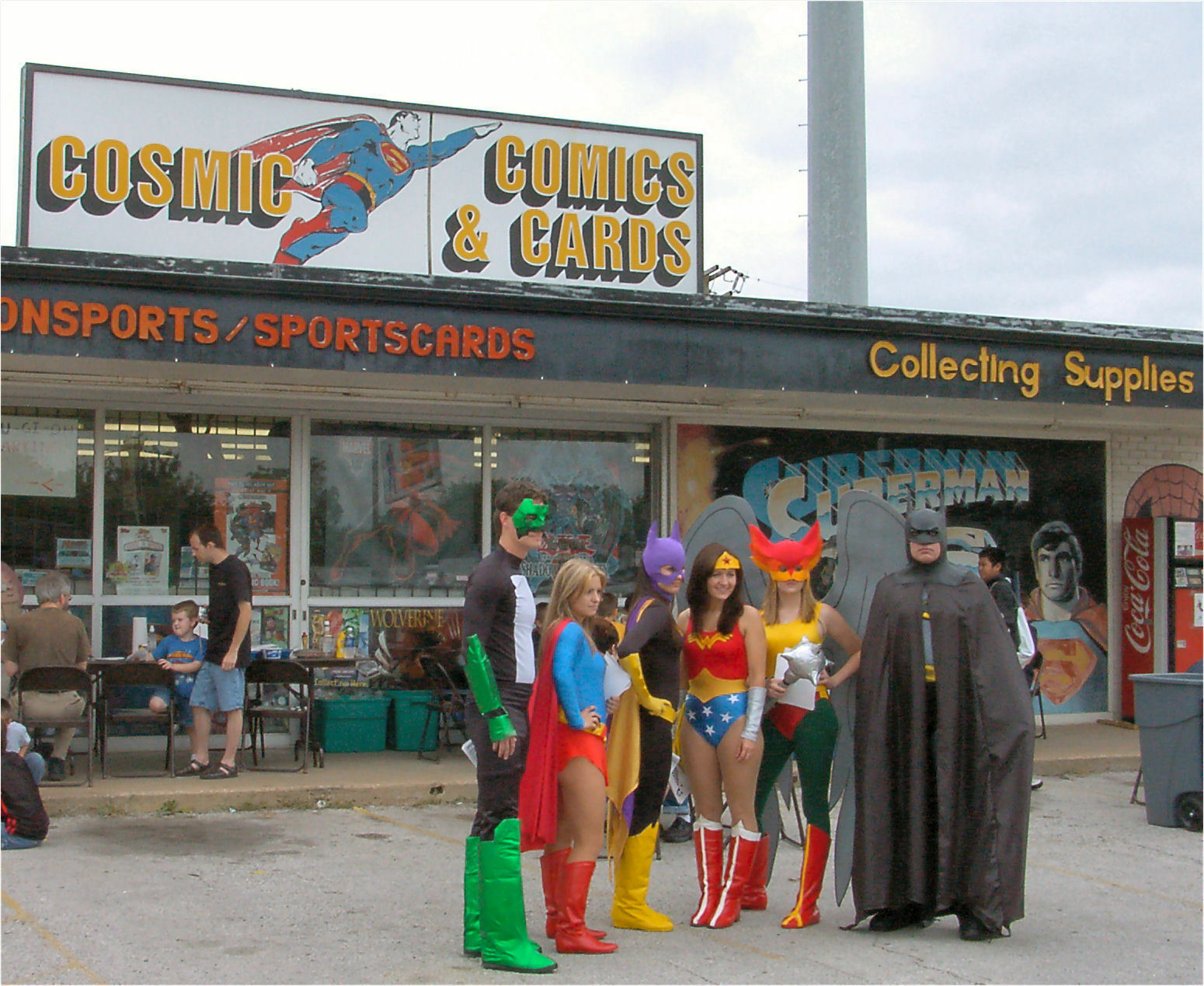 Cosmic Comics and Cards
