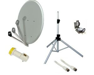 Easyfind 65cm Satellite Dish Upgrade Kit for Supported TV's & Receivers