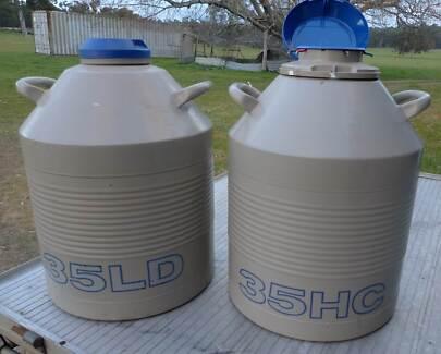 Liquid Nitrogen.Cryogenic Tanks