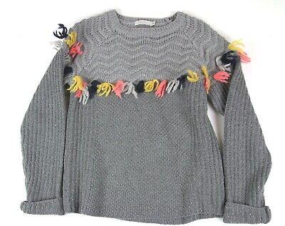 Stella McCartney gray sweater girls sz 12 years