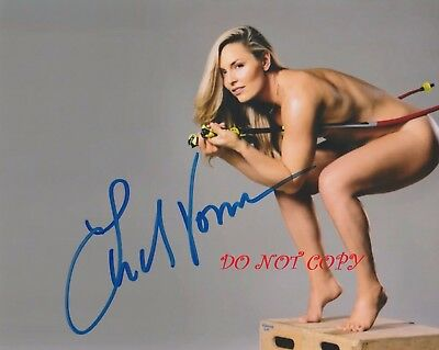 Lindsey Vonn   Usa Ski Team Autographed Picture Signed 8X10 Photo Reprint