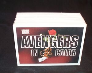The AVENGERS IN COLOR Series 2   complete  trading card set