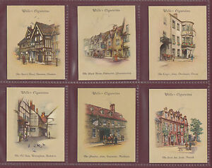 W.D. & H.O. WILLS  LTD. - SET OF L 40 CARDS - OLD  INNS  2ND  -  1939