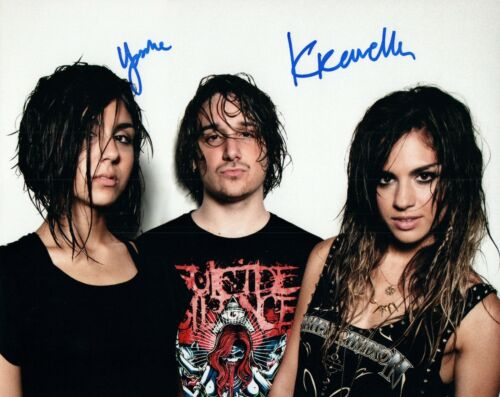 KREWELLA Signed Autographed 8x10 Photo EDM DJ Group COA VD