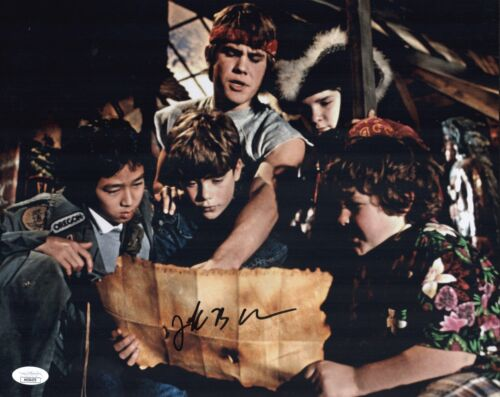 JEFF COHEN Signed 11x14 Photo THE GOONIES In Person Autograph JSA COA Cert