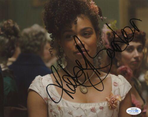 Ruby Barker Bridgerton Autographed Signed 8x10 Photo ACOA