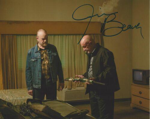 JIM BEAVER SIGNED 'BREAKING BAD' LAWSON 8x10 PHOTO B w/COA TV SHOW ACTOR