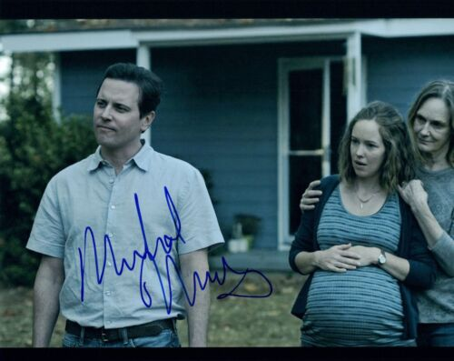 Michael Mosley Signed Autographed 8x10 Photo Scrubs Ozark Actor COA