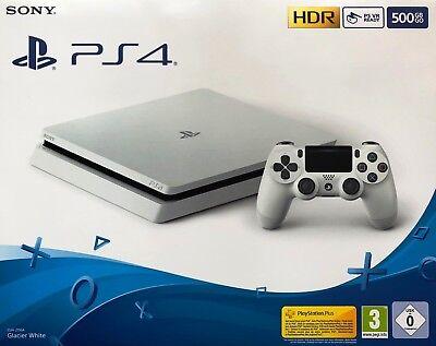 Sony PlayStation 4 Slim - 500GB CUH-2116A Glacier White Spielkonsole NEU + OVP