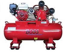 BOSS 18CFM/ 6.5HP HONDA Powered Petrol Air Compressor (112L Tank) Browns Plains Logan Area Preview