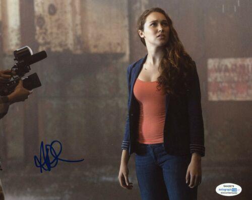 Alycia Debnam Carey Fear the Walking Dead Autographed Signed 8x10 Photo ACOA  #4