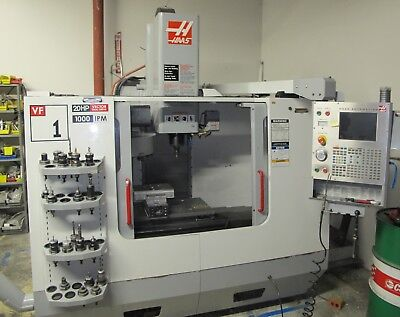 2005 Haas Vf-1d Cnc Vertical Machining Center Vmc W Tooling Very Clean Machine