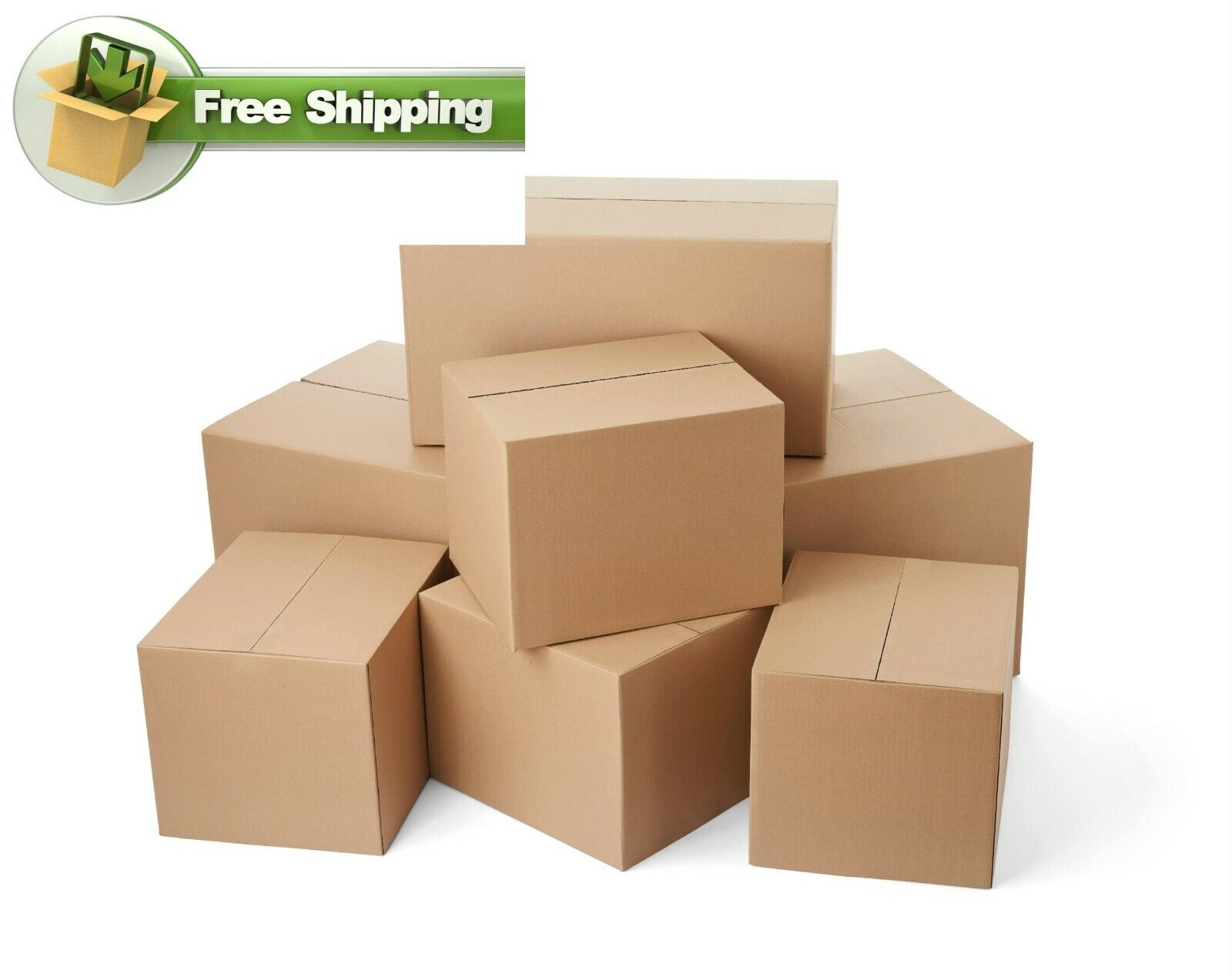 20X12X8 Cardboard Packing Mailing Shipping Corrugated Box Cartons Moving