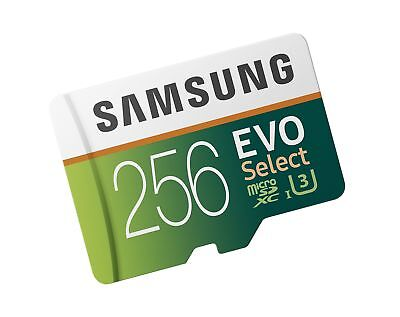 Samsung 256GB 100MB/s  MicroSDXC EVO Select Memory Card with