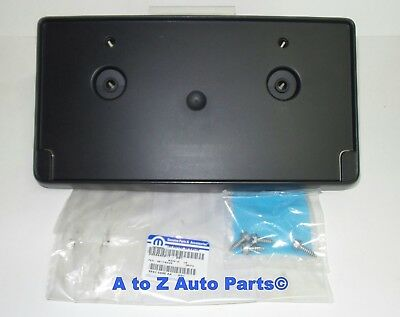 NEW 2018 Dodge Ram 2500-3500 Heavy Duty Front License Plate Bracket, OEM