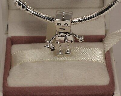 AUTHENTIC PANDORA Rob Bot Charm, 797819   #1582
