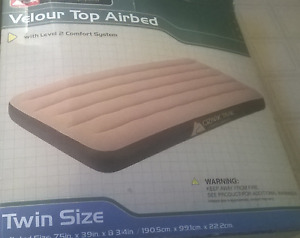 Two Camping Air Mattresses