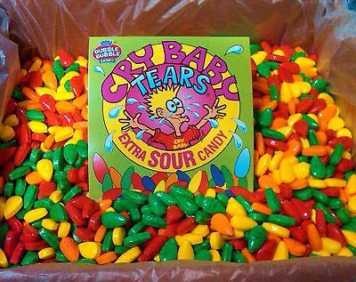 Cry Baby Tears Sour Candy Bulk  2lbs Always Fresh*