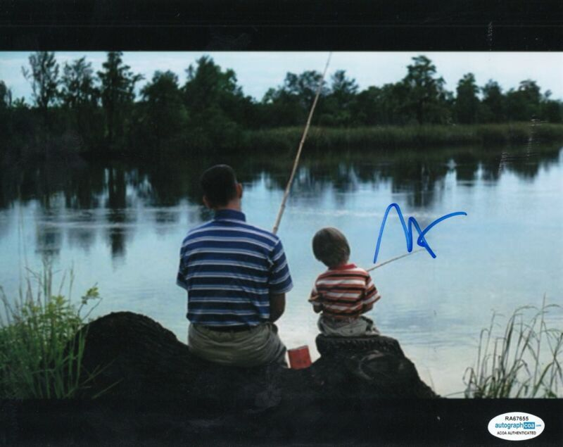 HALEY JOEL OSMENT signed (FORREST GUMP) 8X10 photo ACOA Authenticated #1