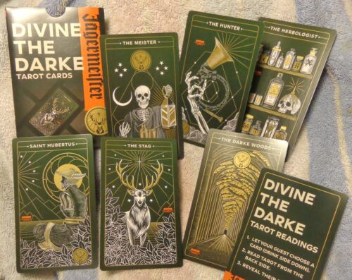 Jagermeister Tarot Cards - Drink Recipe Cards - Very Cool.....NEW