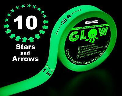 Best Glow in the Dark Tape for Safety, Stairs, Light Switches, Stage, - Glow In Dark Light